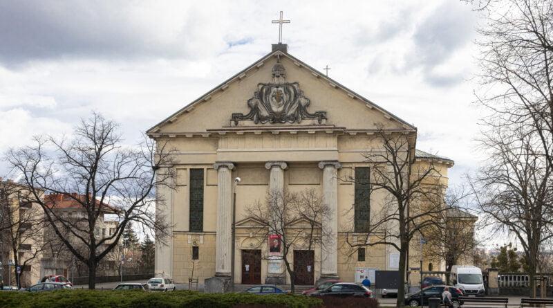 Grób Pański kościół Zmartwychwstania Pańskiego Wilda fot. Sławek Wąchała