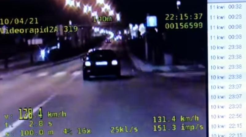 przekroczenie prędkości fot. policja