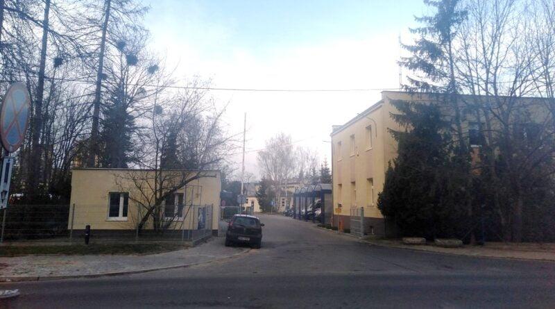 stacja pogotowia przy Rycerskiej