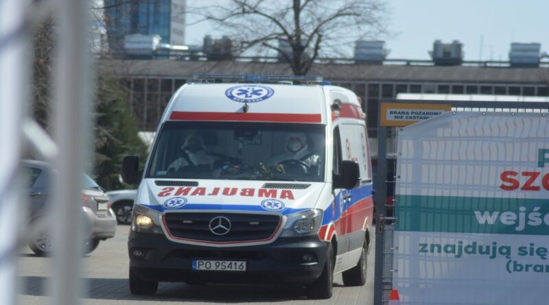 szpital tymczasowy fot. K. Adamska