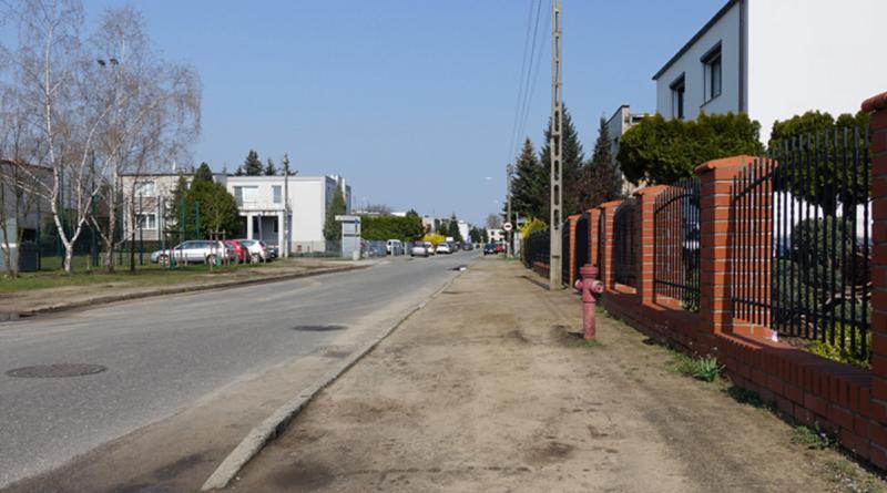ulica Floksowa fot. ZDM