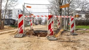ulica mateckiego fot. pim2 300x169 - Poznań: Budowa kanalizacji i zamknięcie dla ruchu ulicy Mateckiego