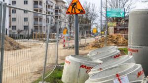 ulica mateckiego fot. pim3 300x169 - Poznań: Budowa kanalizacji i zamknięcie dla ruchu ulicy Mateckiego