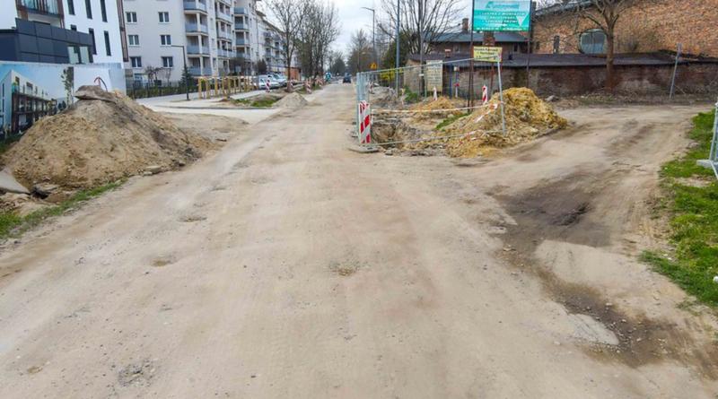 ulica Mateckiego fot. PIM