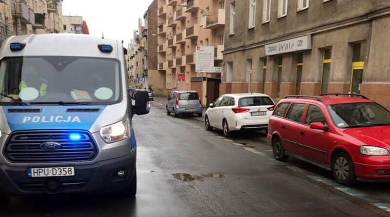 utrudnienia na Polnej fot. policja