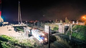 wiadukt golezycka fot. pim 300x169 - Poznań: Wiadukt na Golężyckiej już bez przęseł