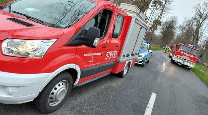 wypadek zdjęcie ilustracyjne fot. OSP Zbąszyń