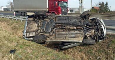 wypadek, Tarnowo Podgórne fot. policja