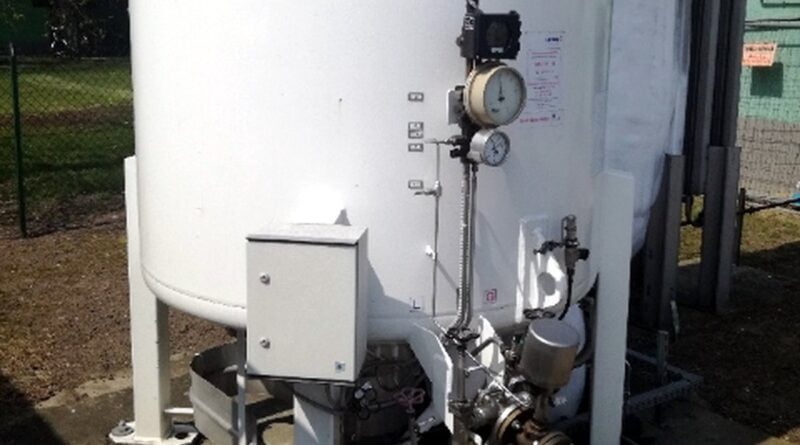 zbiornik z tlenem fot. PCM