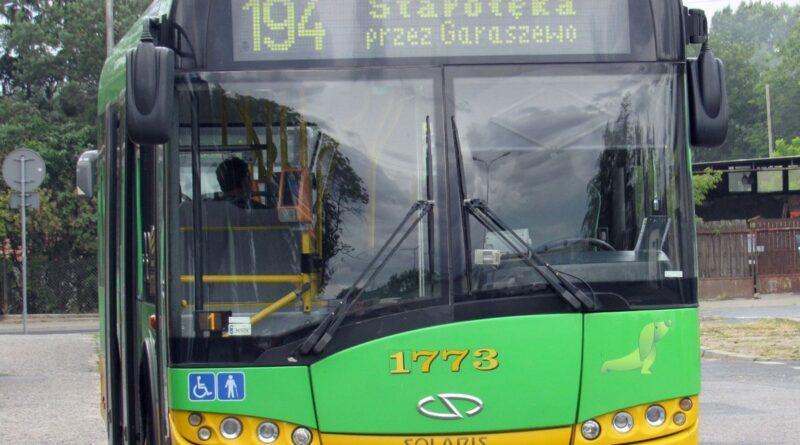 autobus linii nr 194 fot. ZTM
