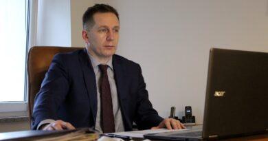 Błażej Górczyński, szef Pleszewskiego Centrum Medycznego fot. PCM