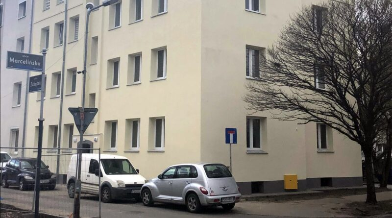 budynek przy Marcelińskiej fot. ZKZL