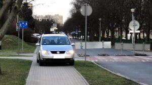 europejski dzien bezpieczenstwa ruchu drogowego fot. smmp4 300x169 - Poznań: Strażnicy przypominali o bezpieczeństwie na drogach