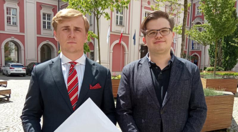 Jakub Marciniak, Jacek Sobiech, Młoda Prawica