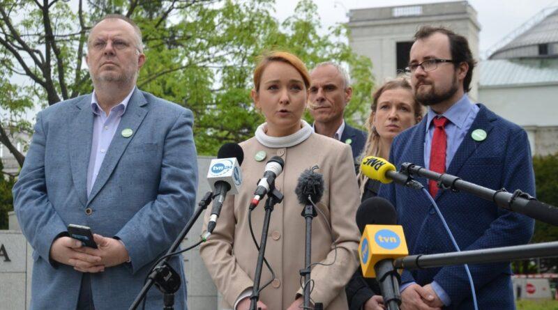 Małgorzata Tracz, partia Zieloni fot. FB M. Tracz