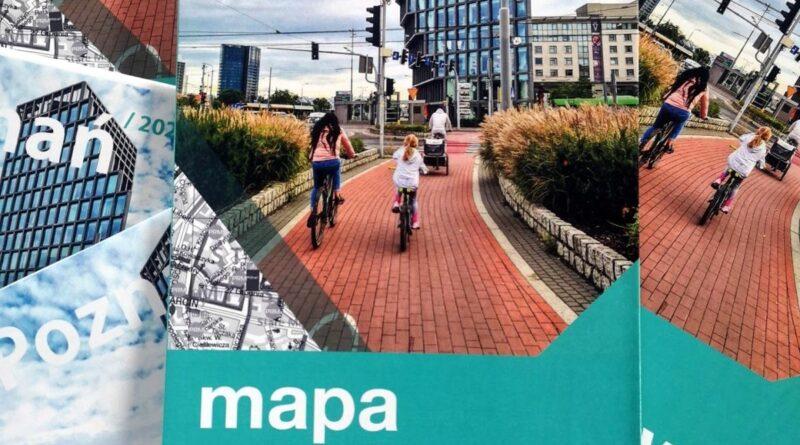 mapa rowerowa Poznania 2021 fot. ZDM