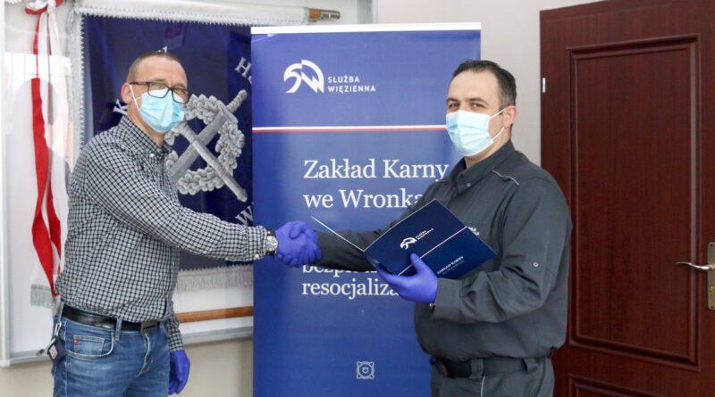 Mariusz Książek fot. ZK Wronki