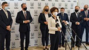 Marlena Maląg w powiecie kaliskim fot. WUW