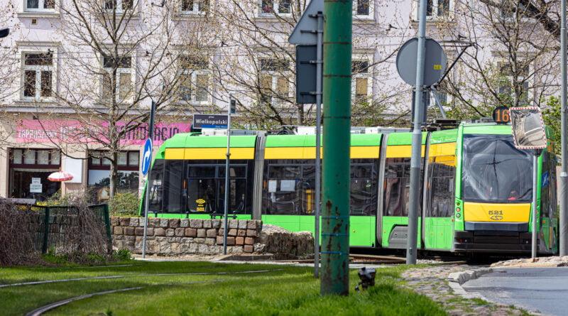 Miasto Poznań Plac Wielkopolski MPK tramwaj fot. Sławek Wąchała