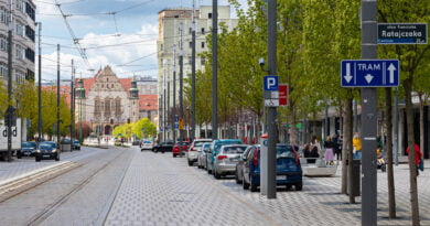 Miasto Poznań Święty Marcin UAM fot. Sławek Wąchała