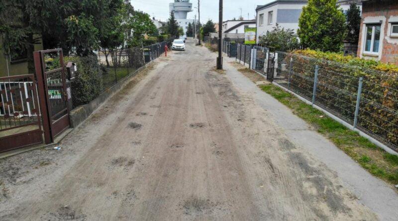 nowe nawierzchnie ulic na Ławicy fot. PIM