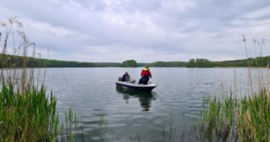 poszukiwania na wodzie fot. policja