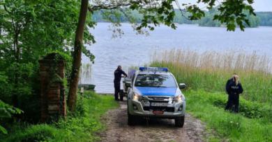 poszukiwania zaginionej fot. policja Międzychód