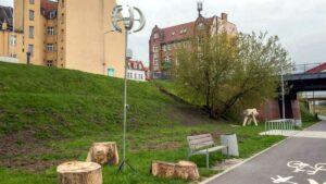rzezby nad cybina fot. ump3 300x169 - Poznań: Niezwykłe rzeźby nad Cybiną