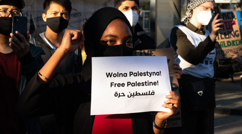 Solidarni z Palestyną - Wolna Palestyna fot. Sławek Wąchała
