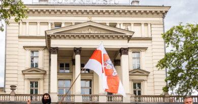 SOS - Wolność - Krzyk dla Białorusi fot. Sławek Wąchała