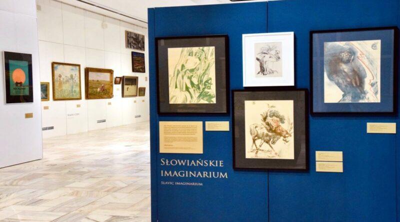 wystawa Sztukosłowiańskość, MPPP w Gnieznie fot. D.Pietraszewski