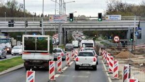 zeromskiego fot. k. adamska 300x169 - Poznań: Kłopoty z przejazdem przez Żeromskiego. Przez cały weekend