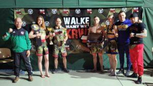 zwyciezcy gali mma fot. wot 300x169 - Powidz: Sara Jóżwiak z 12WBOT nową Mistrzynią Wojska Polskiego w MMA