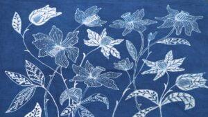 batik kwiaty fot. UPP