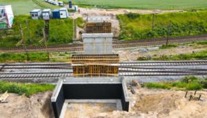 budowa wiaduktu, Gołężycka fot. PIM