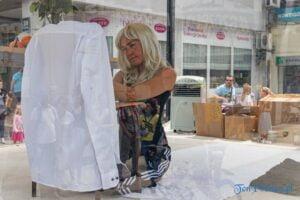 Cienie.Eurydyka mówi.Kamila Baar Instalacja Festiwal Malta fot. Sławek Wąchała