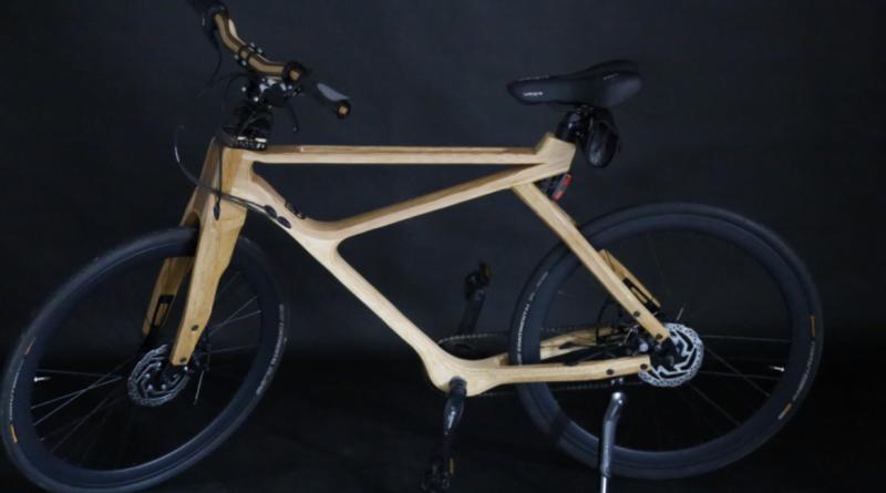 drewniany rower, miejsce 1 fot. UPP