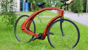drewniany rower, miejsce 2 fot. UPP