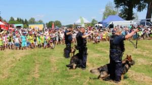 festyn w Niepruszewie fot. policja
