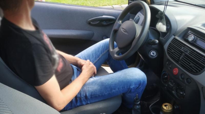 kierowca po 30 piwach fot. policja Białośliwie