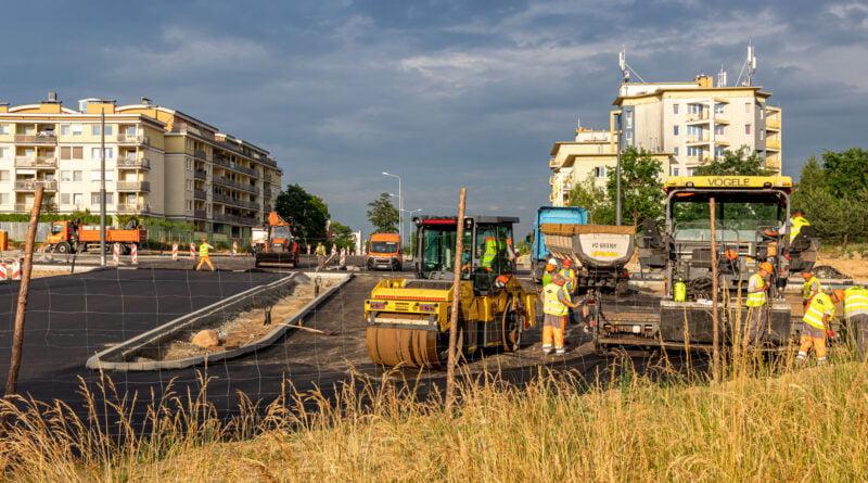 Naramowice plac budowy - tramwaj Nowonaramowicka fot. Sławek Wąchała