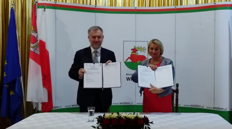 Marek Woźniak, Elżbieta Rybarczyk fot. UMWW