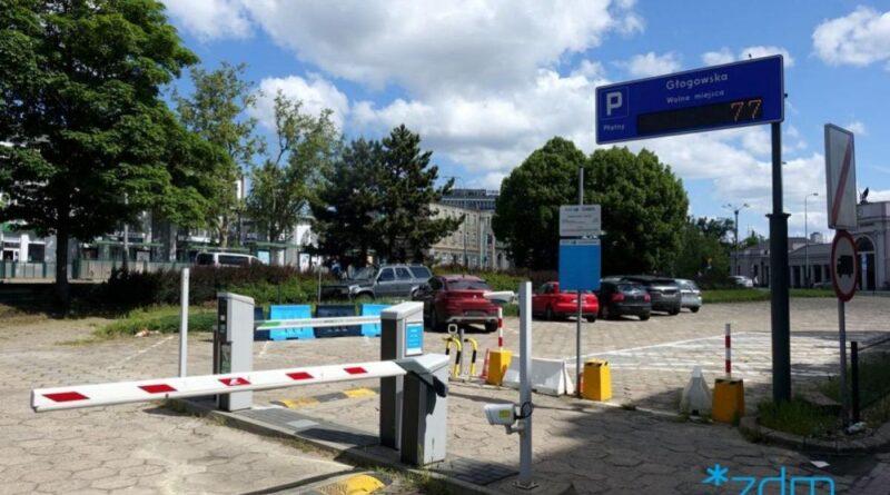parking, Dworzec Zachodni fot. ZDM