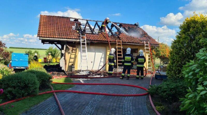 pożar fot. OSP Wyrzysk