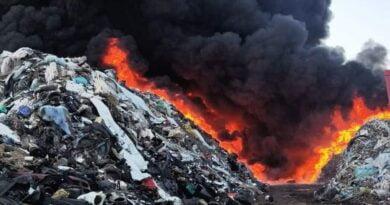 Pożar w Przysiece fot. OSP KSRG Kościan