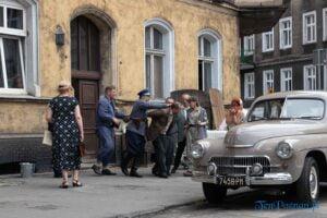 Poznański Czerwiec 1956 Łazarz Skwer Eki inscenizacja fot. Sławek Wąchała