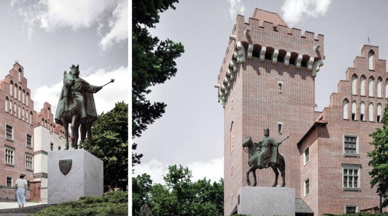 Projekt pomnika Przemysła II asutorstwa S. Szwechowicza fot. UMP