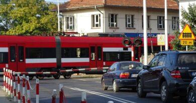 Przejazd kolejowy w Kobylnicy fot. PP