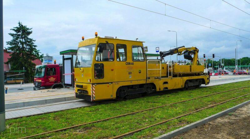 przejazdy techniczne, trasa na Naramowice fot.PIM