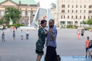 Poznań: Milonga na placu Wolności